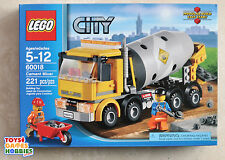 *NEW* Lego City Cement Mixer 60018 Concrete Construction Truck Town - Retired