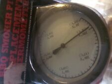 BBQ Barbecue Smoker Pit Replacement Thermometer Backyard Grill New