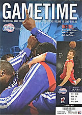 2014--CLIPPERS V. HEAT AND SUNS--PROGRAMS AND FULL TICKETS--LOT OF 4--NMT