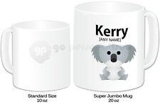 Personalised Jumbo Giant 20oz Mug- Koala Design- Any Name