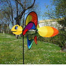 Girouette - Moulin à vent - Eolienne Papillon 43 x 38 x 103 cm