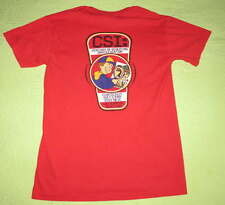 CSI Century Scouting Investigator Boy's SHIRT Sz Adult S Cub Scout Camp Red