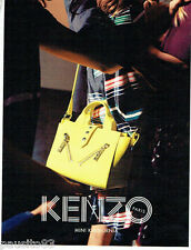 PUBLICITE ADVERTISING 1016  2015   le sac Mini Kalifornia  par Kenzo 2
