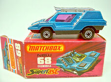 "Matchbox SF68B Cosmobile metallic blue & black ""Adventure 2000"" m/b"