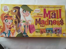MALL MADNESS Electronic Board Game Milton Bradley 2005