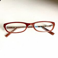 Kenneth Cole Reaction Plastic Women's Eye Glasses Readers Red 50 18 130mm