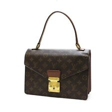 Louis Vuitton Concorde Monogram Hand Bag Shoulder Bag Purse M51190 U.S. Seller