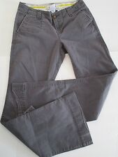 OLD NAVY KHAKI SUPER FLARE PANTS SZ 2 LOW RISE, GRAY Casual, Comfort, Stretch