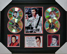 ELVIS PRESLEY 4CD MEMORABILIA FRAMED SIGNED LIMITED EDITION