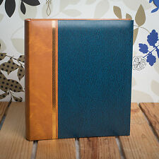 CLASSIC TRADITIONAL 7x5 MEMO 200 PHOTO ALBUM - HOLDS 200 7x5 PHOTOS - DARK BLUE