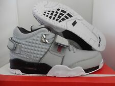 NIKE AIR TR. V. CRUZ WOLF GREY-METALLIC SILVER-BLACK SZ 10 [777535-001]