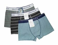 "NEW! AUTH NAUTICA MEN'S BOXER BRIEF UNDERWEAR (SIZE M /W30-32"", PACK OF 3 PRS)"
