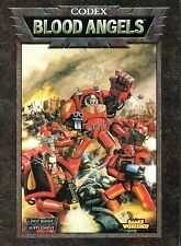 Warhammer 40.000 - Codex-Blood Angles-tabletop-Miniatures-Games Workshop-very rare