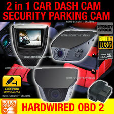 Dash Camera In Car Accident Backup 1080P Hardwired Parking Mode Time Lapse Crash