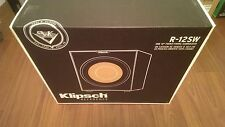 """New Klipsch Reference R-12SW 12"""" 400W Powered Subwoofer R12SW Sealed"""