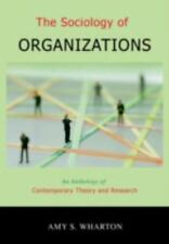 The Sociology of Organizations: An Anthology of Contemporary Theory an-ExLibrary