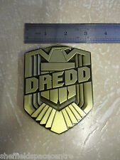 Dredd Movie Judge Dredd Name Badge Official Product 1:1 Scale with Pouch