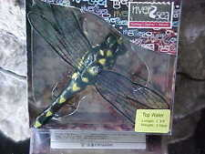 River2Sea TopWater Popper Japan Design DRAGON FLY POP 70/DF-02 BLACK/YELLOW SPOT