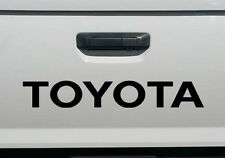 TOYOTA BLACK TAILGATE SPORT Decals Vinyl Stickers 1 truck bed FREE SHIPPING