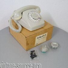Nuevo siemens teléfono wählscheibentelefon fetap 611-2 gris brillante año 02.73