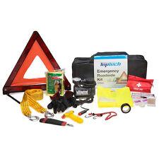 Top Tech 12pc / Pieces Car Automotive Breakdown Emergency First Aid Roadside Kit