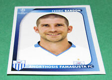 57 C. BARDON FAMAGUSTA CYPRUS UEFA PANINI FOOTBALL CHAMPIONS LEAGUE 2008 2009