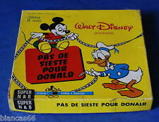 *** FILM SUPER 8 NB MUET 60 METRES - WALT DISNEY - MICKEY ***