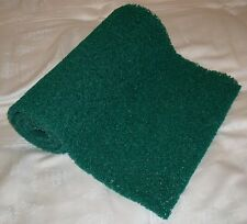 "GREEN MINER'S MOSS Sluice Box Matting 12 x 36 x 3/8"" Gold Pan Panning Dredging"
