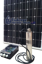 "3"" 500W Solar Submersible Bore Pump with 760W solar panel & 40M cable package &"