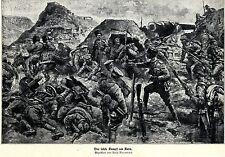 1918 Caucaso front: l'ultima battaglia per Kars * antique print