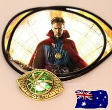 Sale Doctor Strange Eye Of Agamotto Amulet Glow in the Dark Necklace Cosplay Dr