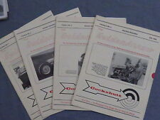 Cockshutt Golden Arrow Newsletter Magazine LOT of 4 1990-1991 Tractor Co-op