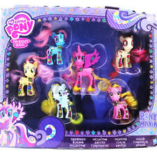 5xMy Little Pony Princess Roseluck Lotus Blossom Petals Lily Valley Toy SetBoxed
