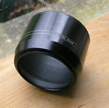 67mm telephoto metal lens hood  used 80 x 60 deep