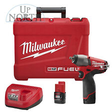 "Milwaukee 2454-22 M12 FUEL™ 3/8"" Impact Wrench Kit FREE SHIPPING"