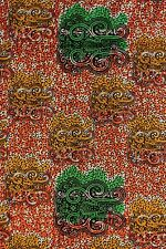 African Cotton Block Wax  Print Fabric Ankara Dress & Craft Making Sold Per Yard