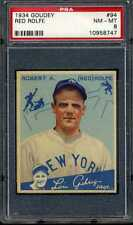 1934 Goudey RED ROLFE #94 New York Yankees - PSA 8