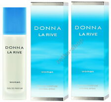 2x90ml = 180ml !!!  DONNA LA RIVE WOMAN Eau De Parfum Natural Spray TOP HIT !!!