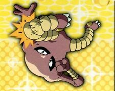 POKEMON CARTE MERLIN STICKER 1999 CARD N° 176 KICKLEE HITMONLEE