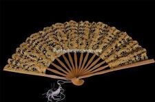 Handmade Battenburg lace Back-Lined Hand Fans