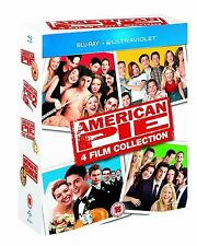 AMERICAN PIE [4-Disc Blu-ray Set] UNRATED 1 2 3 & Reunion Complete Movie Set