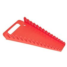 Ernst 5088 Red 15 Tool GRIPPER  Wrench Organizer Holder