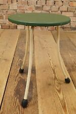 VINTAGE HOCKER STOOL Industrie Design Arzthocker Bauhaus Ära Factory Loft 40er