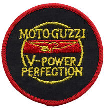 Moto Guzzi Circle Embroidered Patch