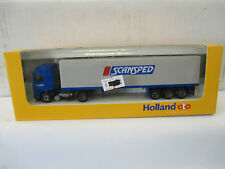 "Holland-oto 1/87 Volvo FH 16 Planen-Sattelzug "" Scansped ""  WS5495"