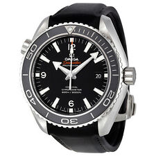 Omega Seamaster Planet Ocean Black Dial Rubber Mens Watch 232.32.46.21.01.003