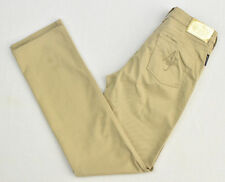 ARMANI JEANS Women`s Beige Straight Leg Pants Denim Jean Size 28