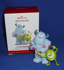 Hallmark Ornament Disney Pixar Monsters Inc Little Monsters 2015 Mike and Sully