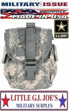 NEW MILITARY ISSUE Acu Camo Molle II Canteen Cover Molle General Purpose Pouch