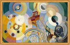 Air, Iron, and Water Robert Delaunay Elemente Luft Wasser Eifelturm B A2 03172